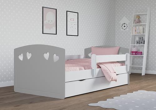 """Children's Beds Home - Letto Singolo """"Bella"""", ideale per bambini e ragazzi, dimensioni 160x80..."""