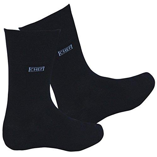 Gastro- Socken - Die Socken für Kellner schwarz 43-46