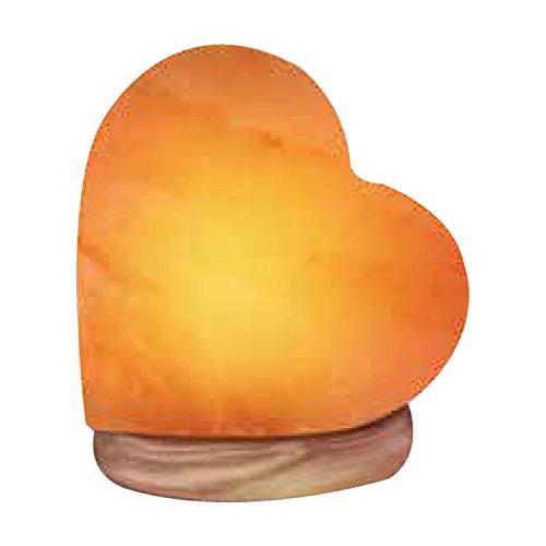 (35% OFF Deal) Himalayan Heart Salt Lamp – multicolour glow $16.79
