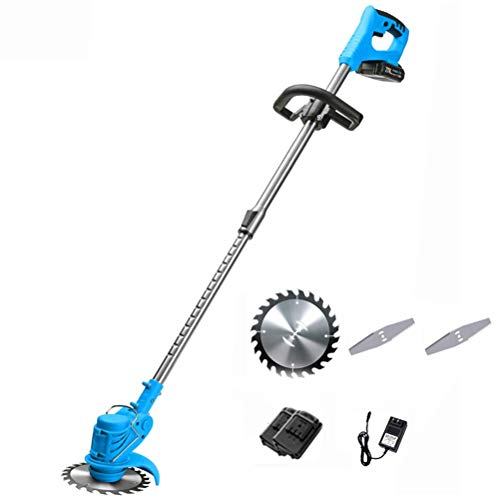 Why Choose ZXYSR Cordless Grass Trimmer, Adjustable Handle Powerful Brushless Motor with Battery and...