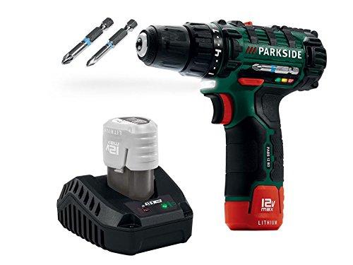 PARKSIDE Akku-Bohrschrauber 12 Volt | 19 Stufen + Bohrstufe - 2