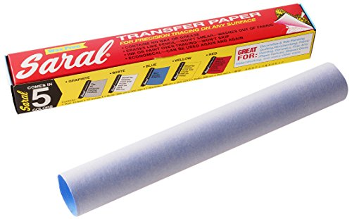 Saral Transfer (Tracing) Paper Roll 12-inch x 12 ft, Blue non-photographic