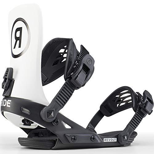 Ride 2020 Revolt Mens Off White Large Snowboard Bindings -  12D1004-1-2 1