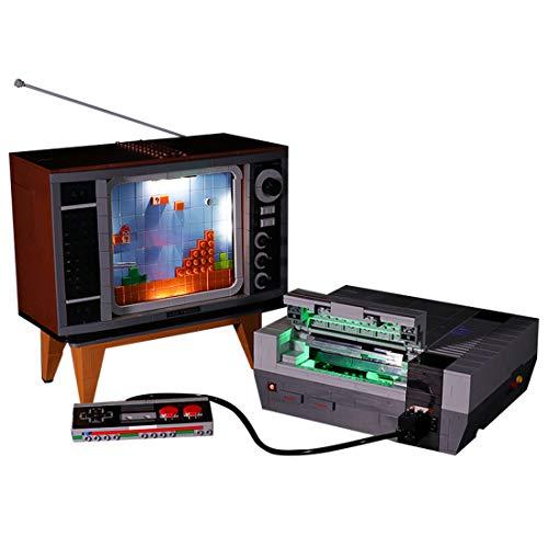 FADF Licht LED Beleuchtung Set für Lego Nintendo Entertainment System 71374 - Nicht Enthalten Lego Modell