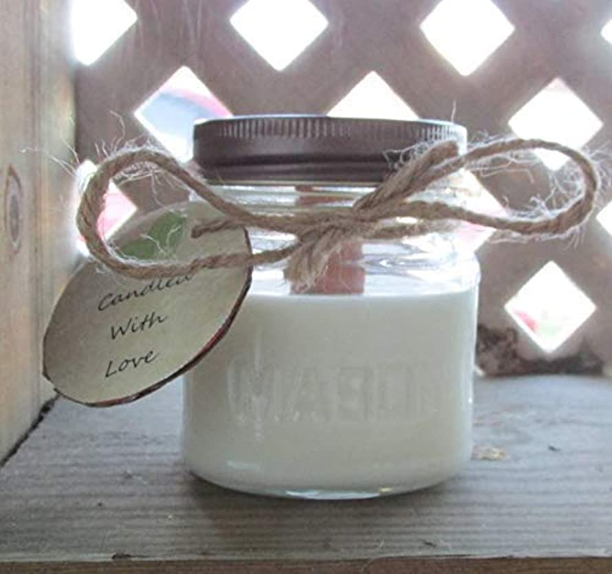 Japanese Cherry Blossom - Soy Wax Candle - 8oz MasonJar by Candled With Love