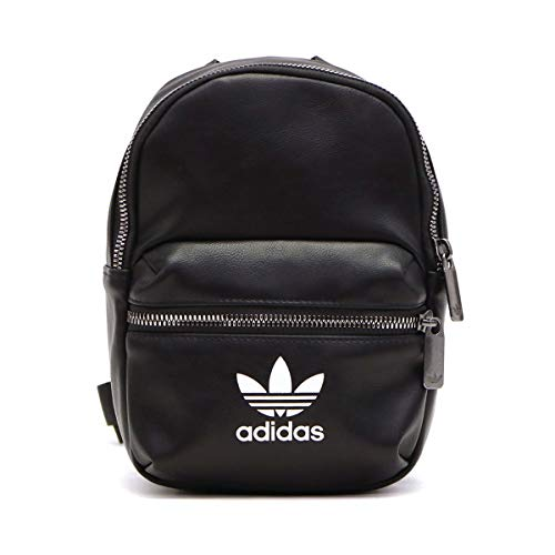 adidas Damen Sports Backpack BP MINI PU, black, NS, ED5882