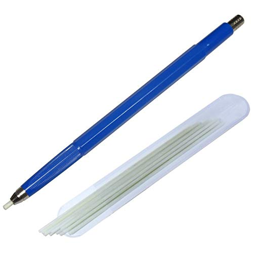 WITTKOWARE Glasfaser-Radierstift, 2mm, mit 12 Ersatzpinseln