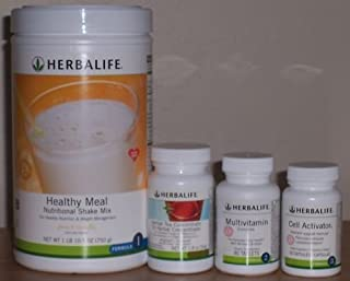 Herbalife Quickstart Program tropical fruit with 750 G Shake