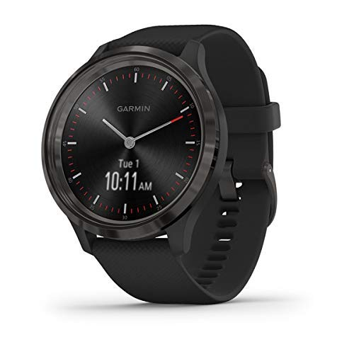 Garmin Vívomove 3 Sport 44 - Reloj inteligente, color negro (Reacondicionado)
