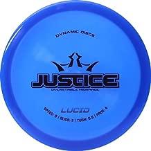 Dynamic Discs Disc Golf Lucid Justice Overstable Midrange Disc Golf Disc