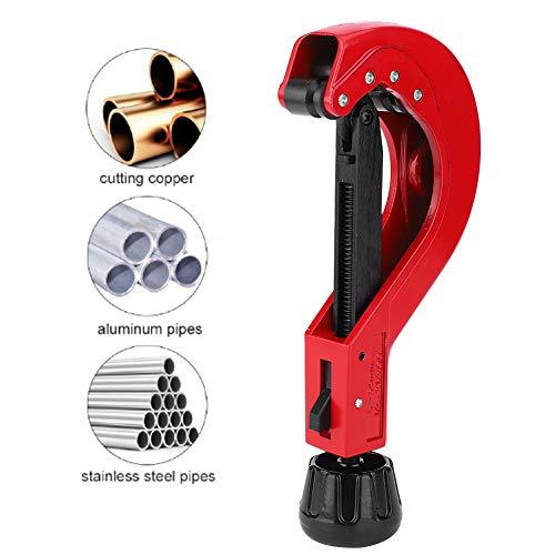 6-64mm Rohrschneider,CT-206 HSS Rohrschneider Klempnerwerkzeug Rohrschneider,Geeignet zum Schneiden von PRV-, Kupfer-, Messing-, Aluminium- und Edelstahlrohren