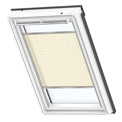 VELUX Original Plissee Dachfenster, M08, 308, Uni Creme