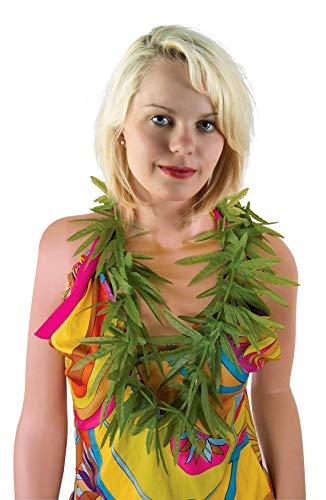 P'tit Clown 52600 Collier Rasta - Feuilles de Cannabis - Vert