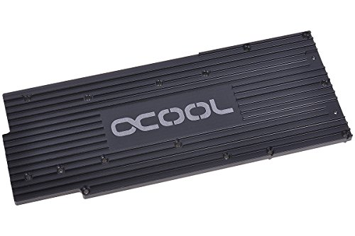 Alphacool 11155 Backplate für GPX - AMD R9 280X M01 - Schwarz Wasserkühlung GPU - Kühler
