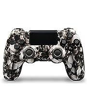 PS4 Trådlöst 4.0 Hantera PS4 fjärde generationsbälteslampa Bar Trådlöst Bluetooth-handtag PS4-spelhandtag PS3, PC-värd-Spöke