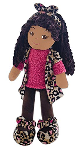 girlzndollz Emme Leopard Black Baby Doll