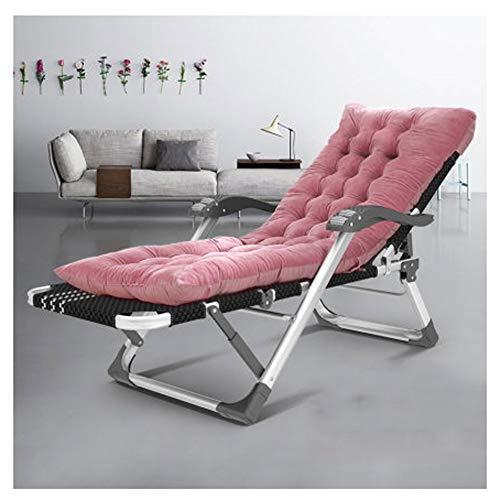 WEIJINGRIHUA Sedia da Campeggio Pieghevole Zero Gravity Lounge Chair Heavy Duty Regolabile Bed Zero Gravity Pieghevole for Patio Piscina Scoperta Giardino Spiagge (Color : F)