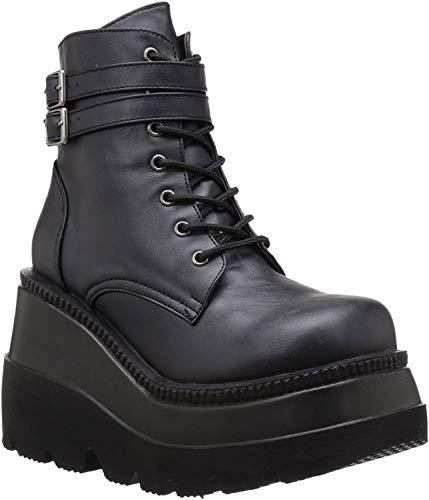 Demonia Damen SHAKER-52 Stiefel, Schwarz (Schwarz), 41 EU