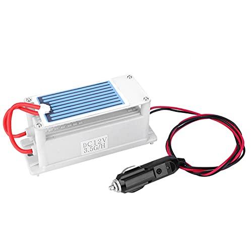 Kadimendium Purificador de Aire Industrial, generador de ozono Ionizador de O3 de bajo Ruido Limpiador de Aire O3 para Habitaciones, hoteles y Granjas Eliminador de olores para un Aire más Limpio