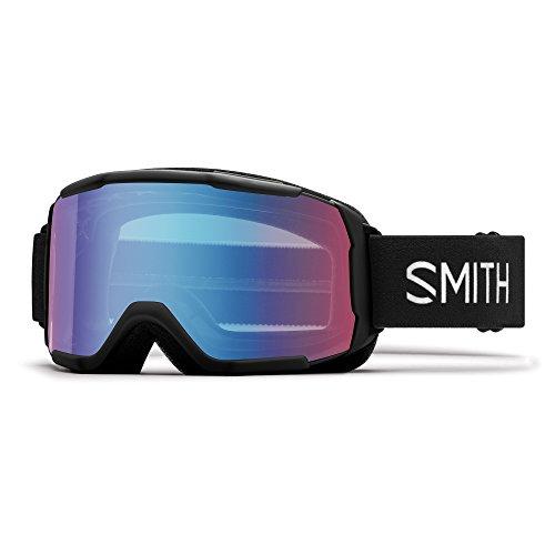 Smith Daredevil Skibrille Unisex Kinder, schwarz, Größe S