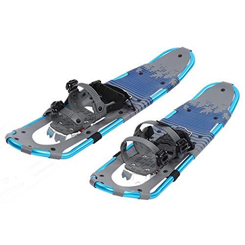 XQAQX Raquetas de Nieve para Exteriores, Raquetas de Nieve de 30 Pulgadas Marco de Aluminio Ligero y Flexible para Caminar con Hebilla de liberación rápida