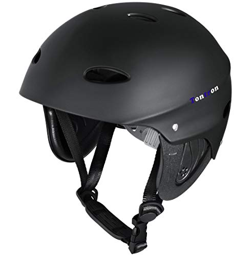 Tontron Water Helmet (Matte Black Diamond,Medium)