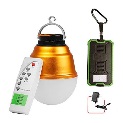 Duan hai rong DHR Geführtes kampierendes Licht 180W, mit Fernbedienung, Zelt-Licht im Freien, USB-Solaraufladung, super helle Beleuchtung, wasserdicht, Notenschalter Camping Lichter