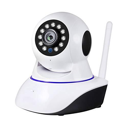 KERUI Cámara IP 1080P HD, Cámara de Vigilancia WiFi Interior para Hogar, Casa Seguridad Camara con Visión Nocturna, Audio de 2 Vías, Inalámbrico Video Camera para Mascota Oficina Bebé Tienda