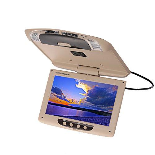 Sedeta 9 Zoll 800 * 480 Auto Monitor Dach Mount LCD Farbmonitor Bildschirm Overhead Multimedia Video onitor herunterklappen Decke Dachhalterung Display