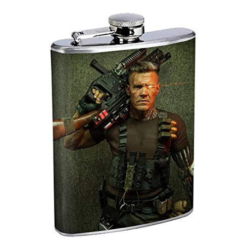 Edelstahlflasche Cable Comic Book Super Heroes 8oz Drinking Whiskey