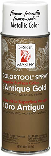Design Master 746 Garden, Antique Gold, 11 ounces