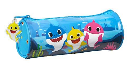 Estuche Redondo Escolar de Baby Shark, 200x70mm