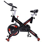 Pinty Pro Stationary Spin Bikes Indoor Exercise Upright Cycling Workout Gym Bicycle, 330lbs
