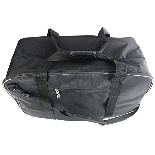 Black Motorcycle Travel Tour Pack Liner Luggage Bag Expandable Inner Bags Container Motorcycle Luggage