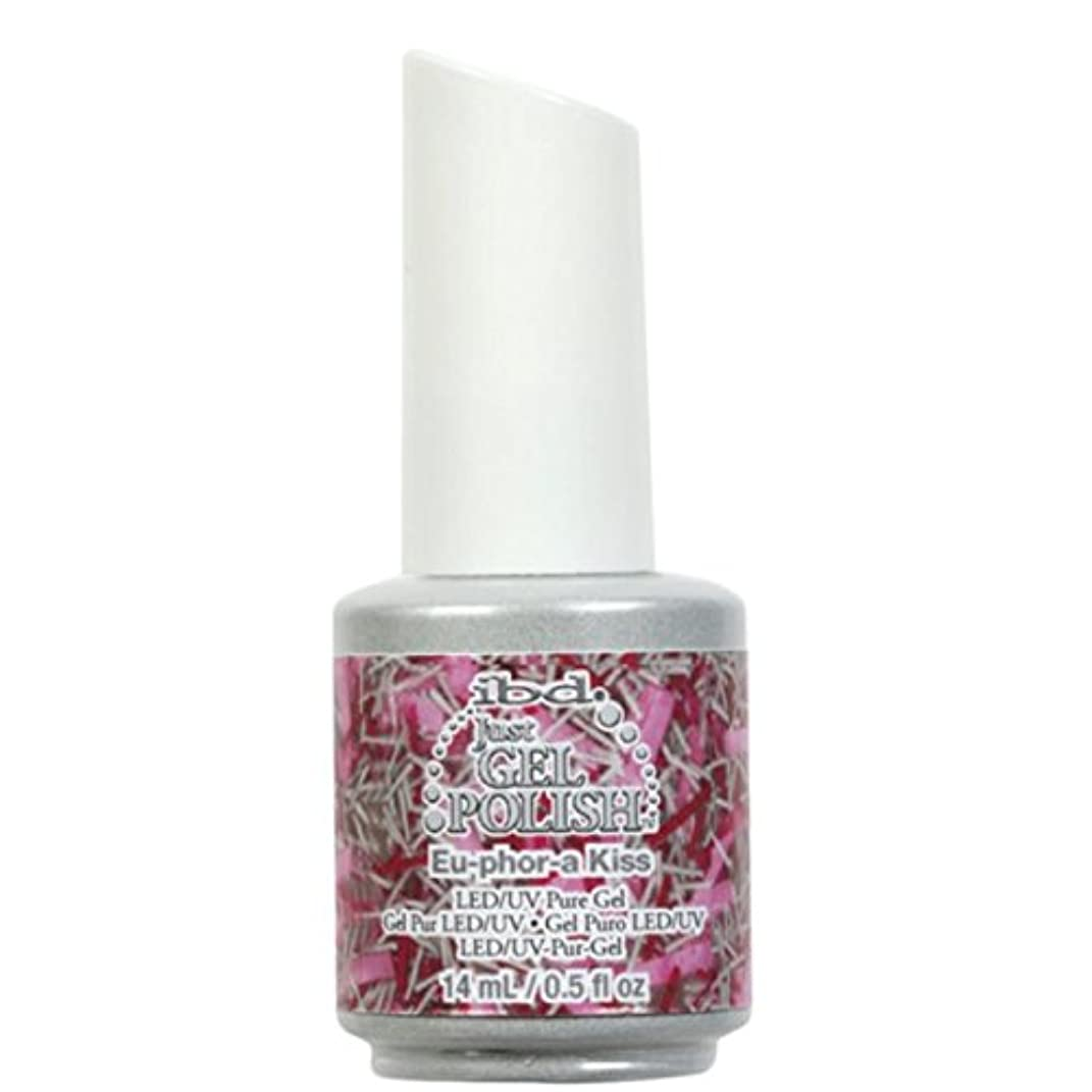被るギャラリー病なibd Just Gel Nail Polish - Eu-Phor-A Kiss - 14ml / 0.5oz