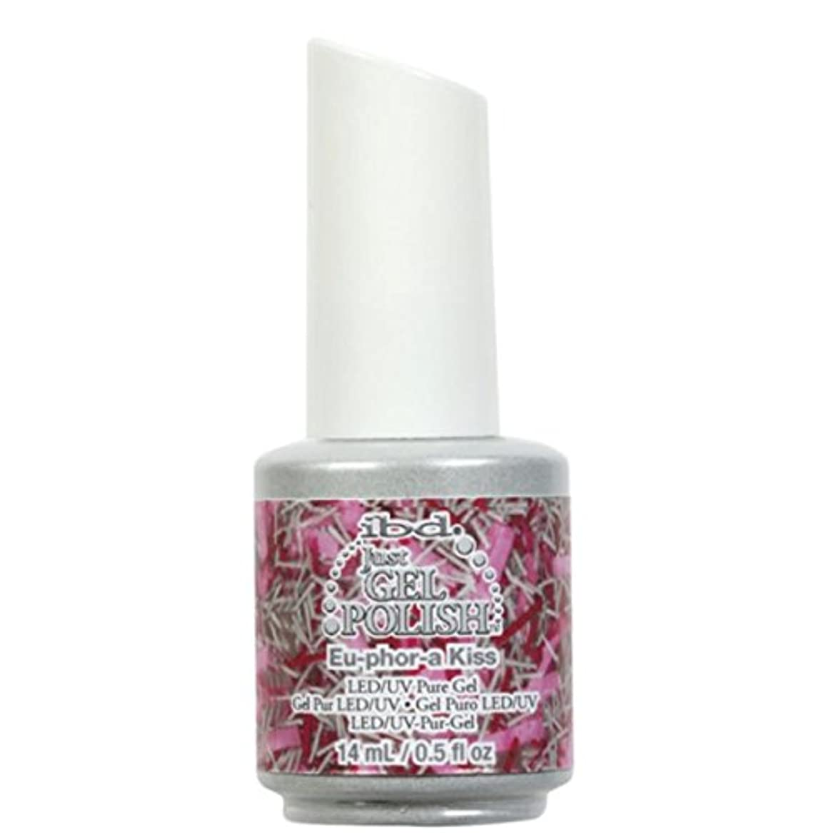 換気する細分化する水銀のibd Just Gel Nail Polish - Eu-Phor-A Kiss - 14ml / 0.5oz