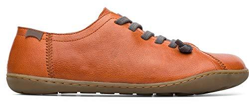 Camper womens Women Shoe, Dark Orange, 6 M US