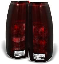 For C/K C10 Series Blazer Sierra Suburban Pickup Truck Red Smoke Rear Tail Light Brake Lamps Replacement