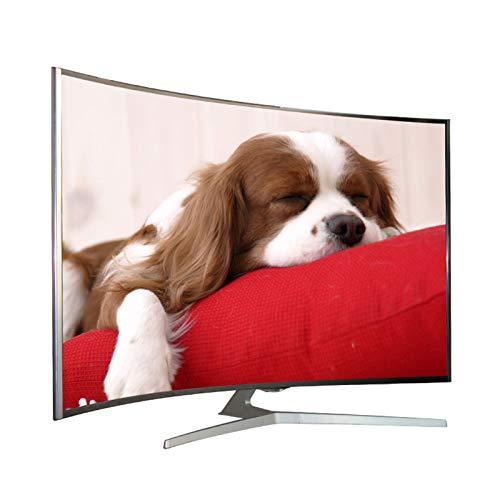 LTINN Televisor Curvo con WiFi para Hotel, Panel de Alta definición 4K, Pantalla LCD 1080P, resolución 3840x2160, Imagen Fina, Ocho tecnologías de Mejora
