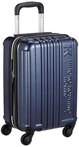 [ヒロコ コシノ オム] スーツケース 日帰り~2泊対応 TSAロック付き マチ幅調節機能付き 30L 42 cm 2.4kg ネイビー