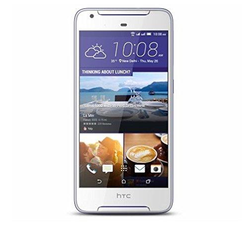 HTC Desire 628 16 GB - Smartphone (16 GB, SIM doble, 2 GB de memoria RAM 4G LTE 13 MP cámara principal, 5 MP cámara frontal), color blanco