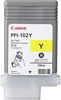 Canon LUCIA Yellow Ink Tank For IPF 500, 600 and 700 Printers - Inkjet - Yellow