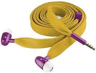 Trust Urban Lace - Auriculares in-ear (con micrófono), amarillo