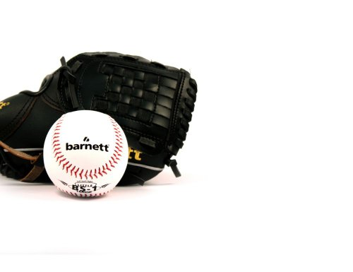 BARNETT GBJL-4 Baseball Set, Handschuh & Ball, Youth, PU (JL-102, BS-1)