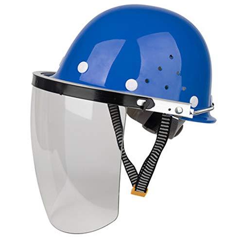 YUXINCAI Face Protection Cover, Gezicht Bescherming Cover Lassen Cap Snijden en Polijsten Transparante Anti-Spatter Lassen Hoofd Bescherming
