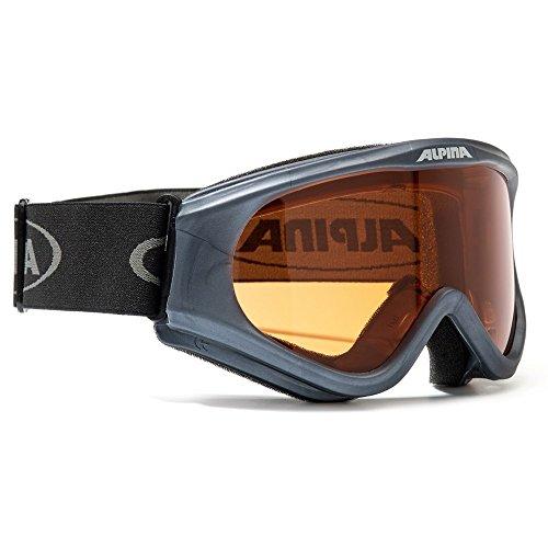 Kinder Skibrille Alpina DRIBER A70433 Modell 2013 div. Farben, Farbe:gun