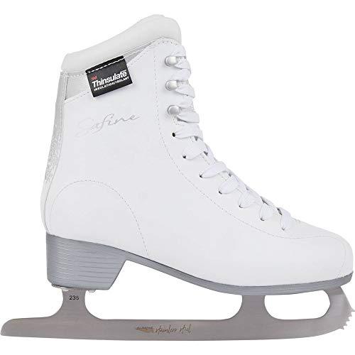 Tecnopro Damen Complet Marina 1.0 Feldhockeyschuhe, Weiß (White/Silver/White 901), 41 EU