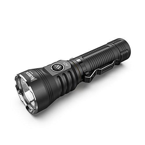WUBEN Powerful Tactical Flashlight 4200 Lumens Super Bright 7 Lighting Modes Rechargeable 21700 Li-ion Battery Included Waterproof Handheld Light for Camping Hiking Emergency Outdoor