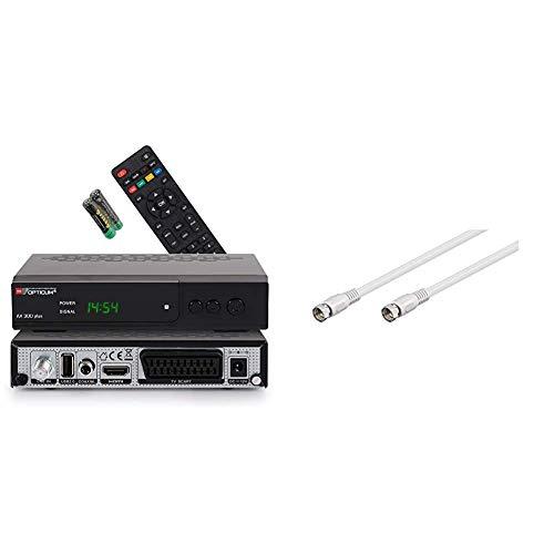 Opticum HD AX300 Plus PVR HDTV-Satellitenreceiver...