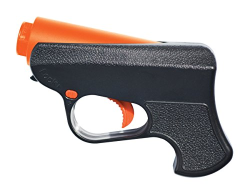 SABRE Ruger Pepper Spray Gun – Police Strength – Reloadable with 10-Foot (3M) Range, 5 Bursts & Enhanced Facial Coverage